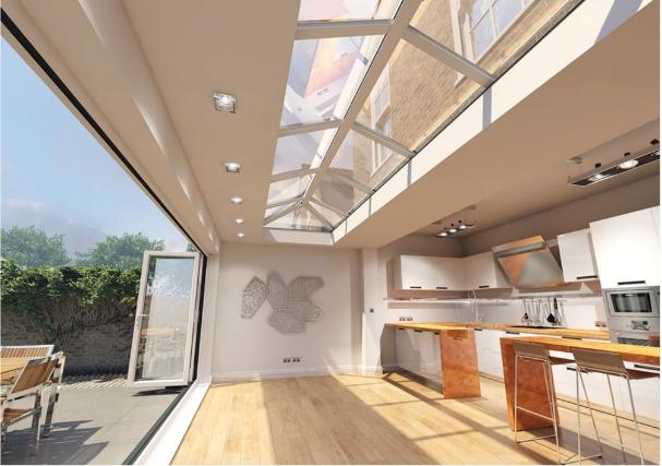 Superb Natural Light In Homes Flat Skylights Roof Lanterns Att Interior Design Ideas Inamawefileorg