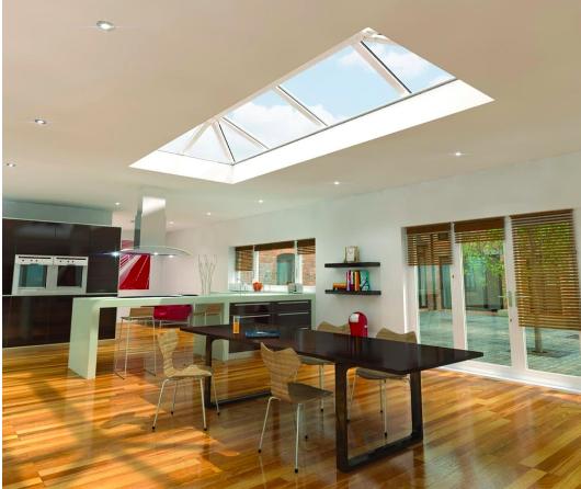 Pleasant Natural Light In Homes Flat Skylights Roof Lanterns Att Interior Design Ideas Inamawefileorg