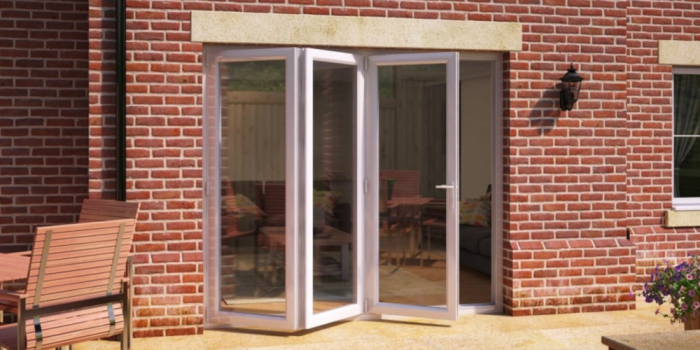 how to fit a bifolding door