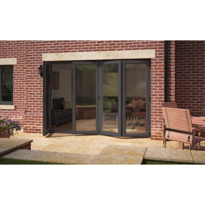 Aspect Model 10 UPVC Bi-Fold Door Anthracite Grey 2990mm x 2090mm