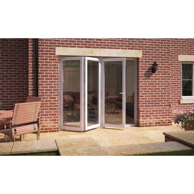 Aspect Model 8 UPVC Bi-Fold Door 2390mm x 2090mm - Open Left