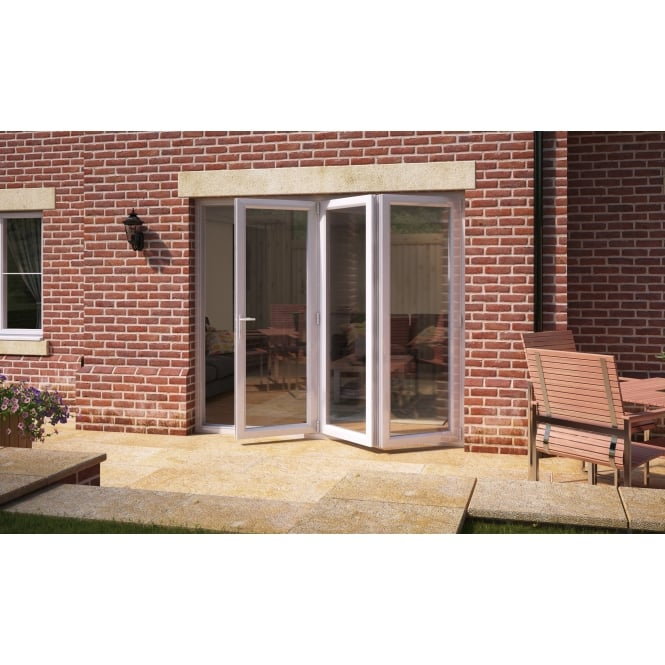 Aspect Model 8 UPVC Bi-Fold Door 2390mm x 2090mm - Open Right