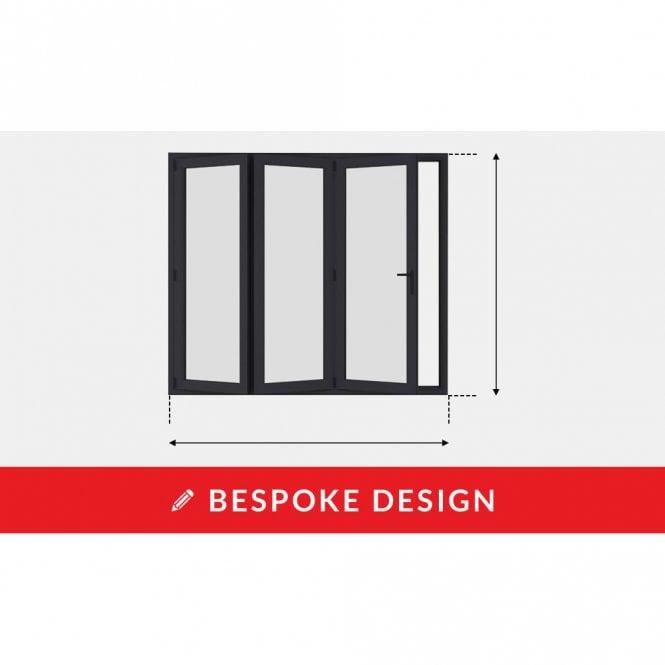 Smarts Design Your Own  Aluminium Bi-Fold Door