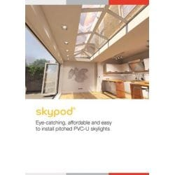 Skypod Glass Roof Lantern - Anthracite Grey - Activ Blue ...