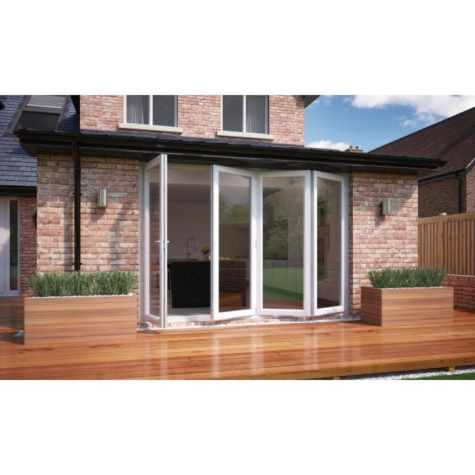 Smarts Model 12 Aluminium - Bi-Fold Door 3590mm x 2090mm - 1 Door Left 3 Slide Right