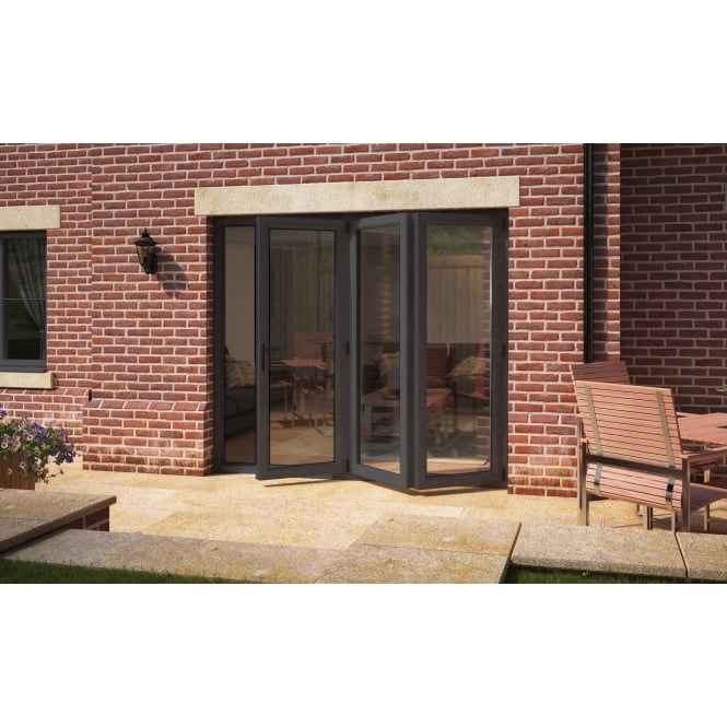 Aspect Model 6 UPVC Bi-Fold Door Anthracite Grey 1790mm x 2090mm