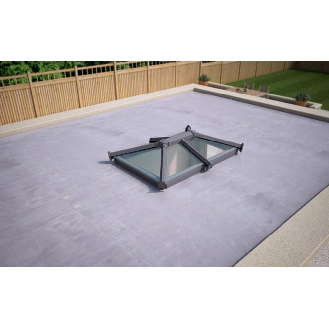 Skypod Glass Roof Lantern - Activ Glass - 1000mm x 1500mm