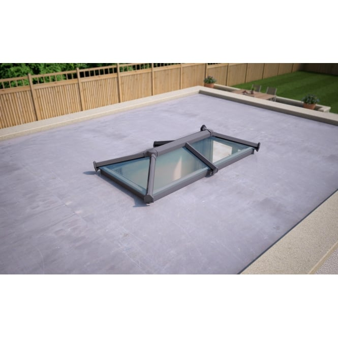 Skypod Glass Roof Lantern - Activ Glass - 1000mm x 2000mm