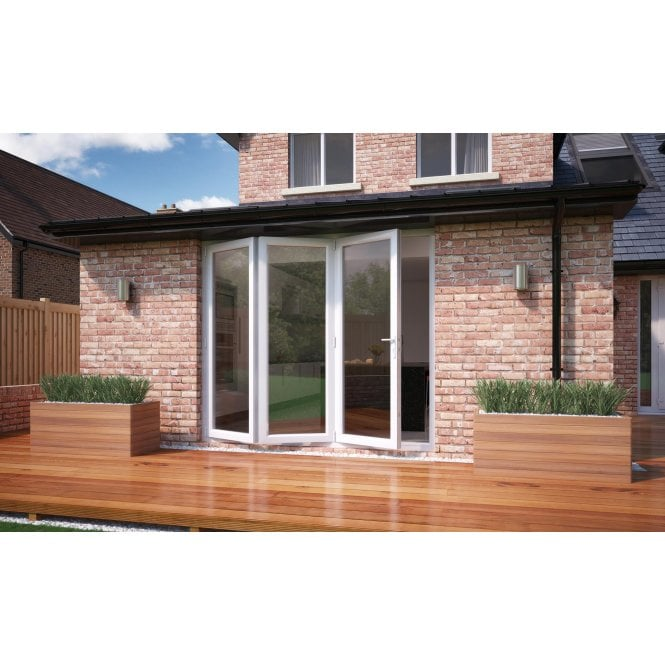 Smarts Model 6 Aluminium Bi-Fold Door 1790mm x 2090mm - Open Left