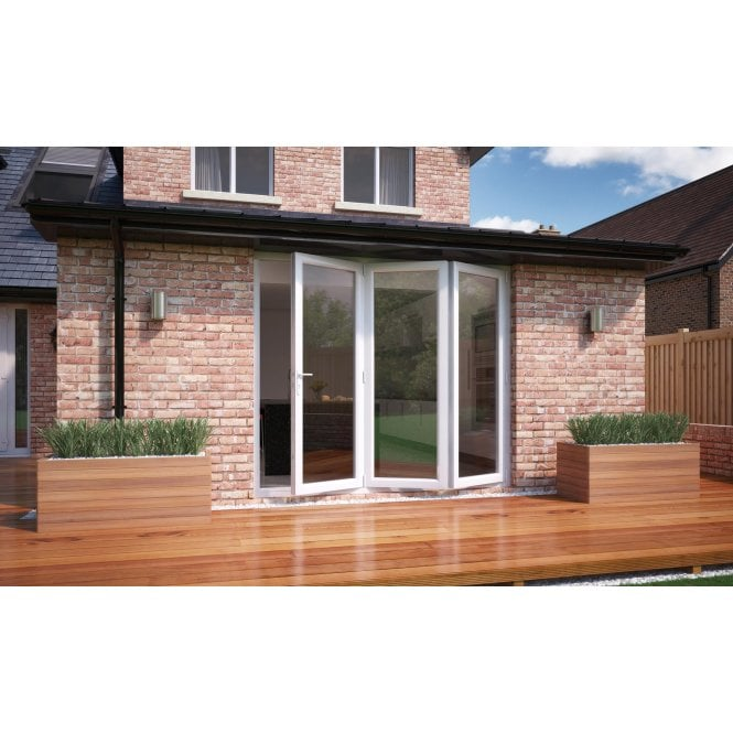 Smarts Model 8 Aluminium - Bi-Fold Door 2390mm x 2090mm - Open Right